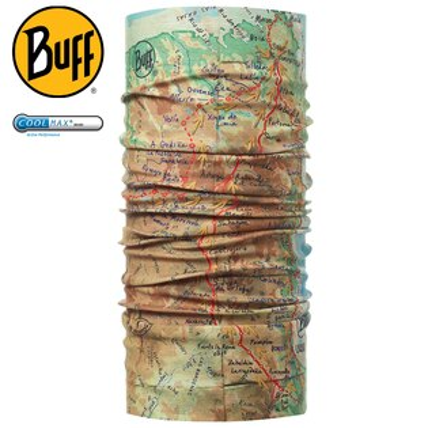 Buff高防曬CoolMax抗UV魔術頭巾聖雅各之路180480聖堂之路路跑馬拉松健行登山