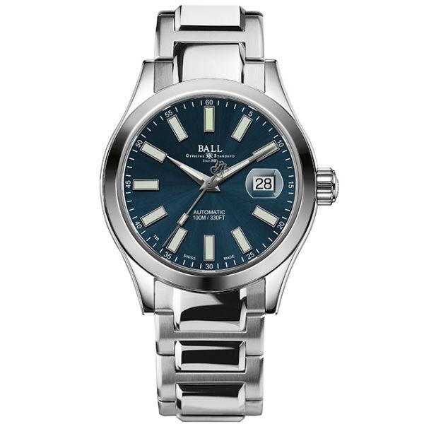 大高雄鐘錶城 BALL 波爾錶NM2026C-S6J-BE Engineer II經典大三針腕錶/ 藍面40mm