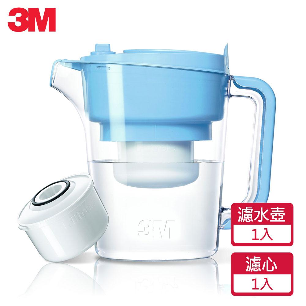 3M 即淨長效濾水壺(1壺1濾芯)(WP3000)-藍