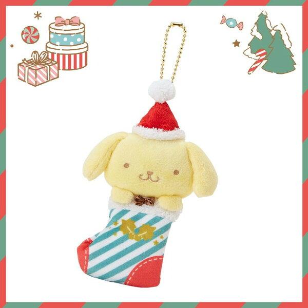 【真愛日本】17111400020聖誕限定珠鍊娃-PN聖誕襪XM+ABL三麗鷗布丁狗聖誕造型娃娃玩偶
