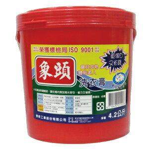 象頭 洗衣膏 4.2kg/桶