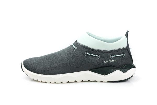 【MERRELL 8折│全店免運】MERRELL 1SIX8 MOC 女鞋 灰綠色 健行鞋│休閒鞋 1