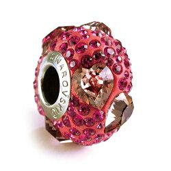swarovski 施華洛 水晶元素 串珠-特殊鑽款-心意 潘朵拉風格 81722