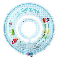 【總代理公司貨】英國 Swimava 火車 嬰兒游泳脖圈/泳圈/游泳