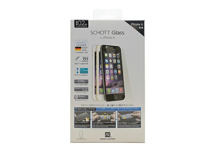 POWER SUPPORT iPhone 6  6s  SCHOTT GLASS 螢幕玻璃