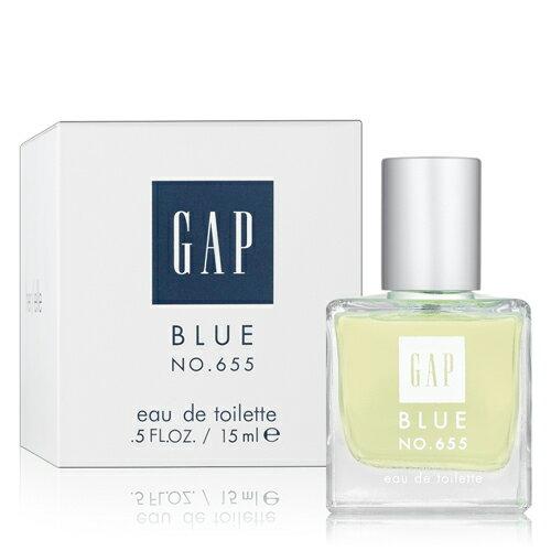GAP Blue No.655 經典丹寧女性淡香水 15ML ☆真愛香水★