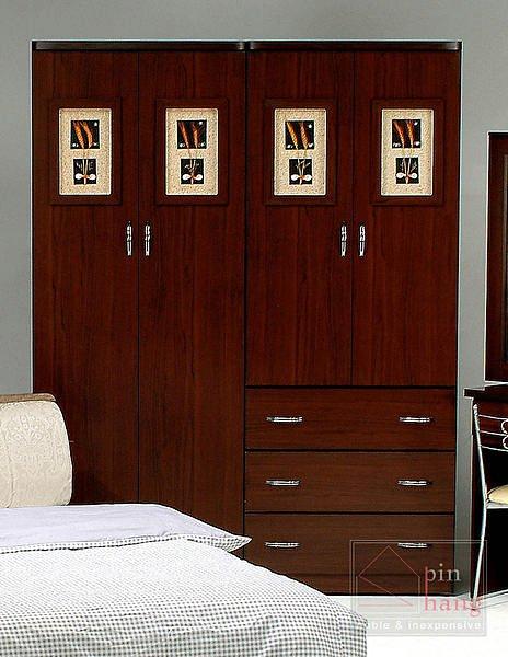 【尚品傢俱】GF-A02 幸運草白橡/胡桃 2.5尺女櫃雙吊房間收納櫃衣櫃衣櫥