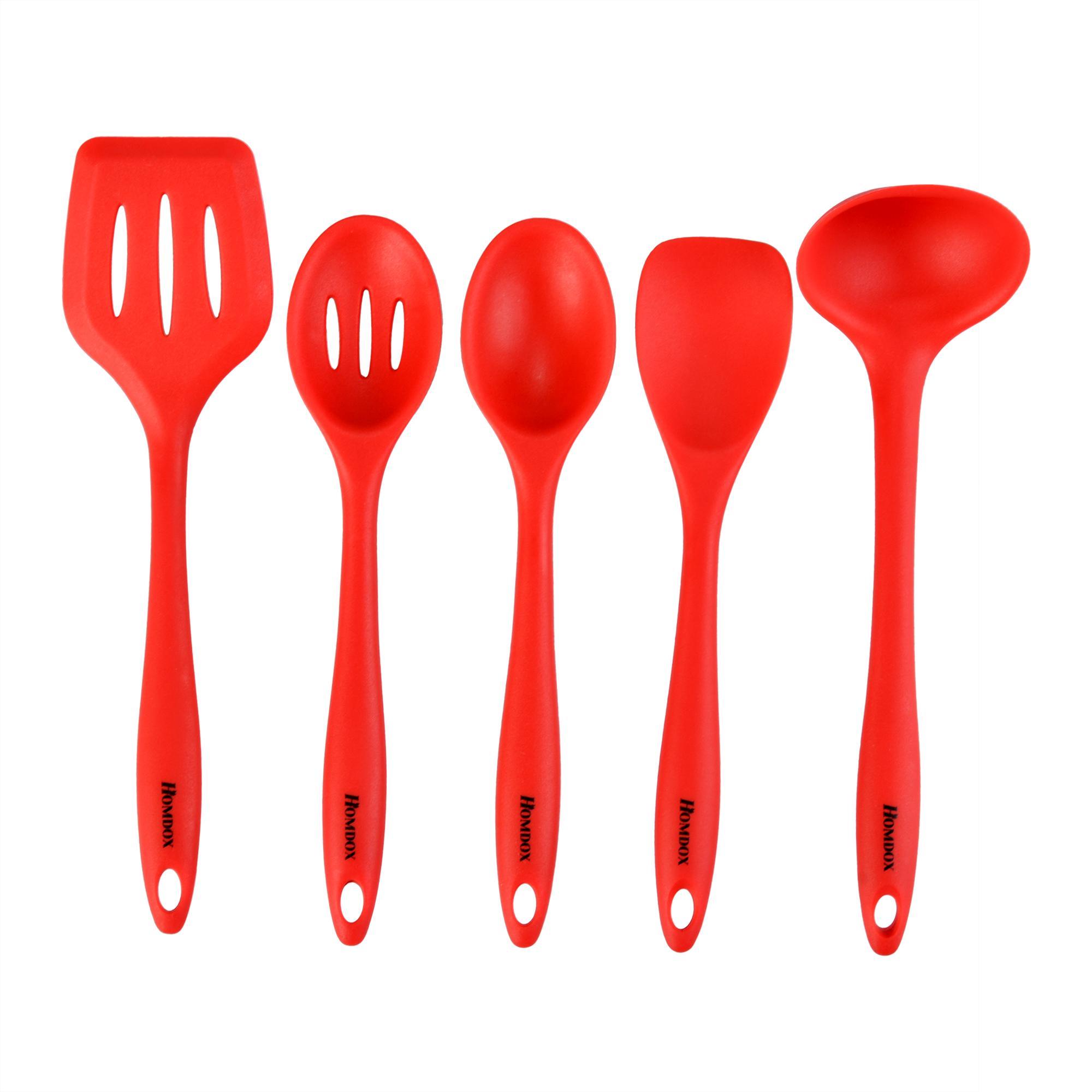 5pcs Silicone Kitchen Utensils Set 0