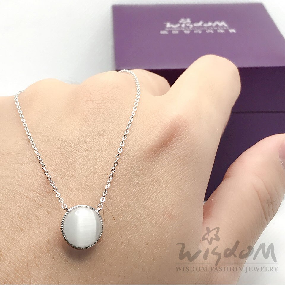 威世登時尚珠寶- 白月光銀小套鍊 ZSB00058-BFHX