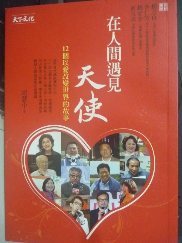 【書寶二手書T6/勵志_ILI】在人間遇見天使:12個以愛改變世界的故事_胡慧中