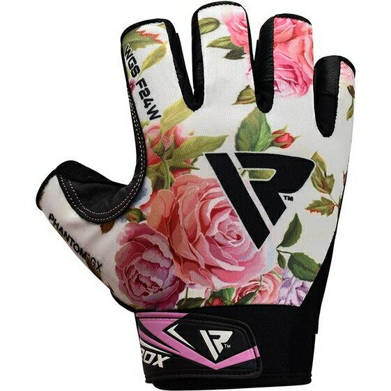 【RDX】女性健身透氣手套(粉紅)