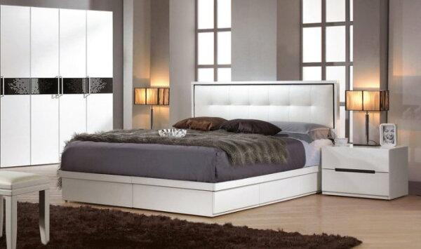 【尚品傢俱】CM-123-2波爾卡5尺雙人床(不含床墊.另有六尺)