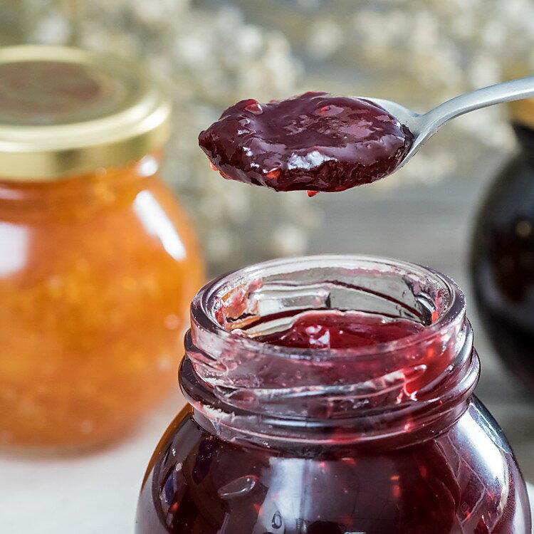 手作水果果醬禮盒 120g/瓶 (3入/盒) (莓果果醬 ) 塗抹土司.麵包.司康或拌於奶酪優格, 也可沖泡成天然果茶 |  精選新鮮水果製成 每一個口味都鮮甜可口【MINI SNOW香草屋】