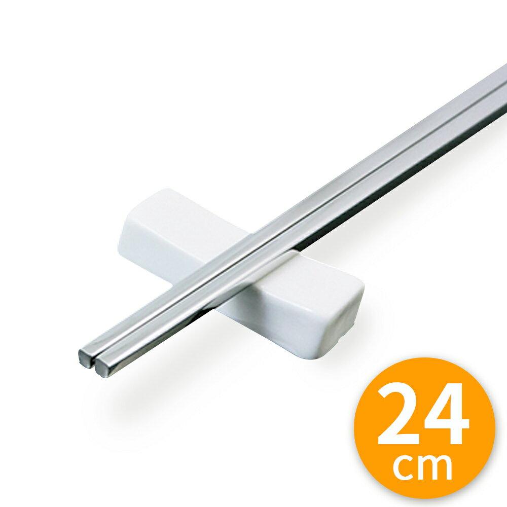 304 日式 四角方筷 不鏽鋼筷 24cm (1包5雙)