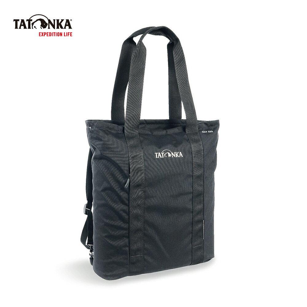 德國TATONKA Grip Bag 托特包 黑 -TTK1631-040