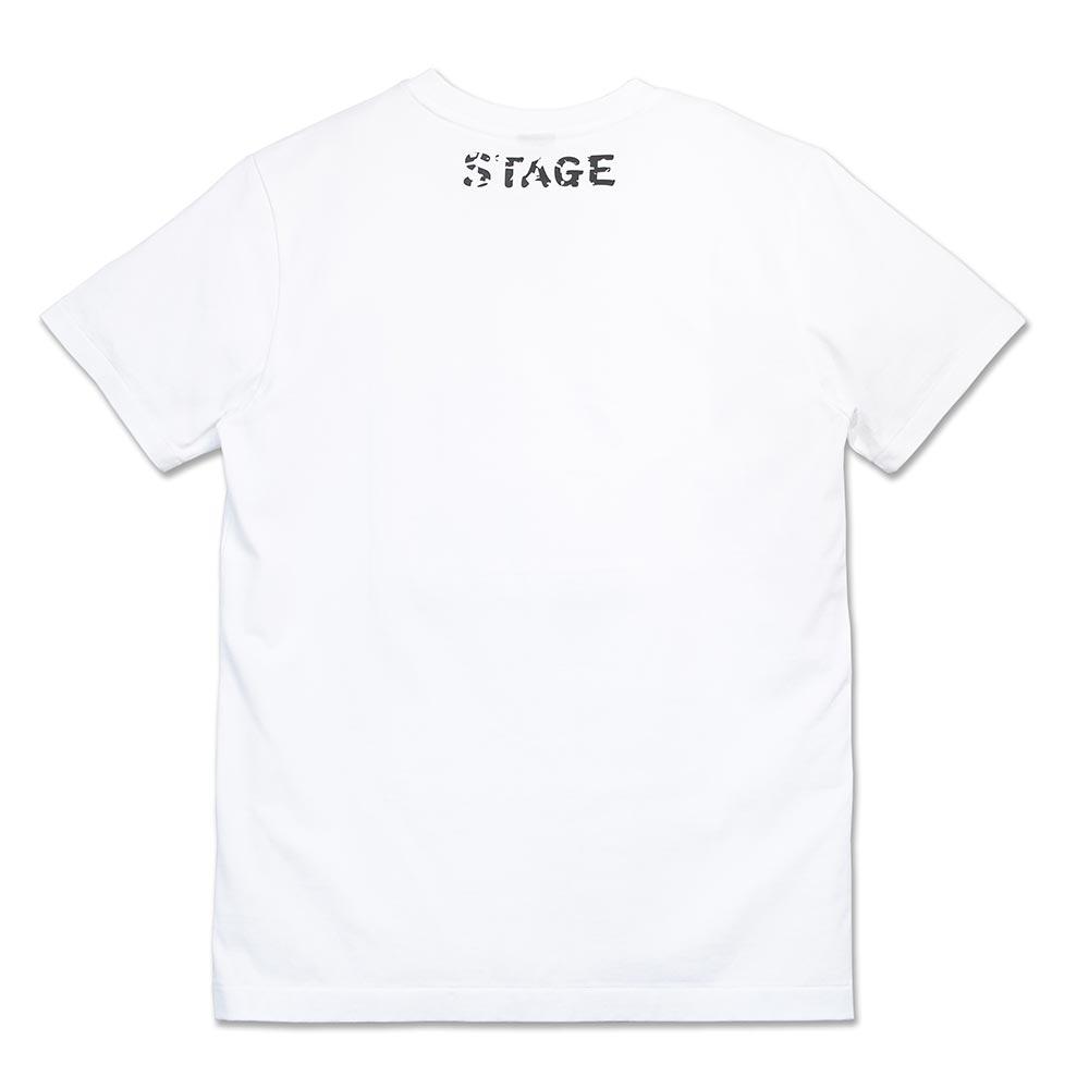 STAGE NIPPON LOGO SS TEE 黑色 / 白色 兩色 5