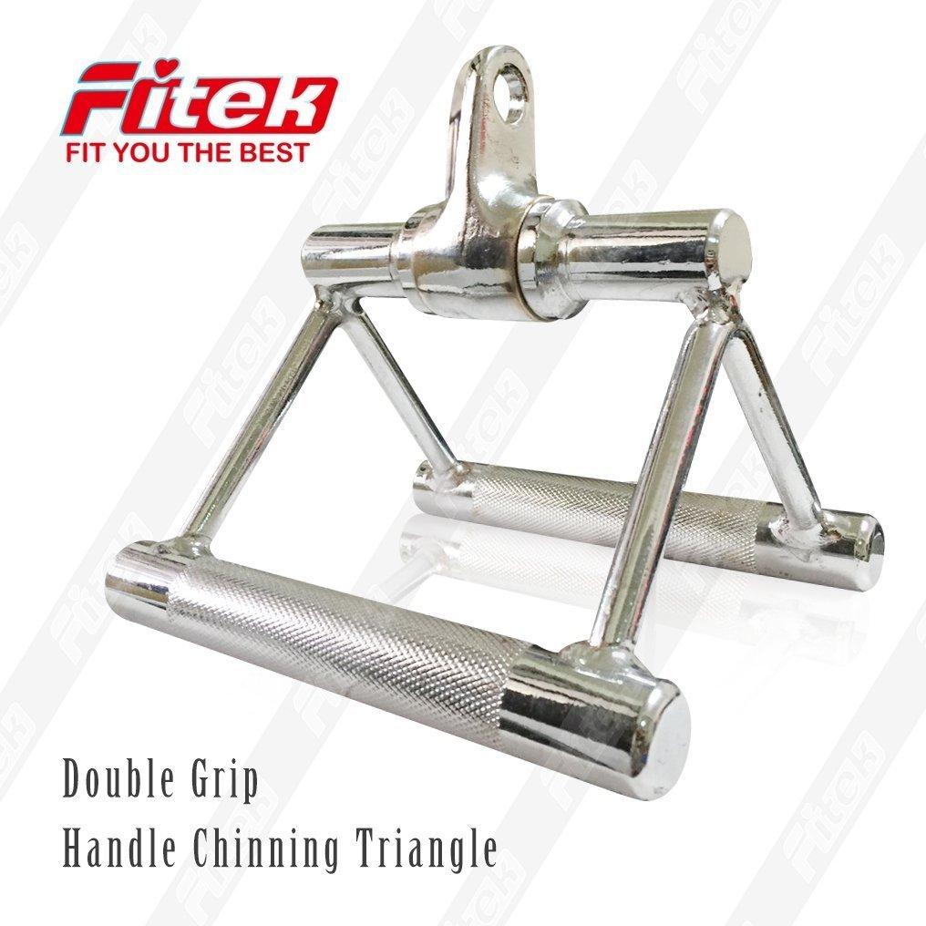 【Fitek 健身網】轉環三角拉桿☆實心活動V型拉桿☆適用於各式重量訓練機/重量訓練器材☆