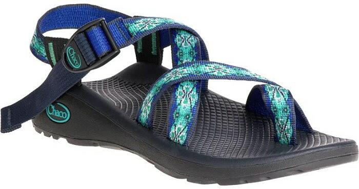 ├登山樂┤美國Chaco Z/Cloud 2 女-越野紓壓運動涼鞋-夾腳款 藍寶石# CH-ZLW02-HC15