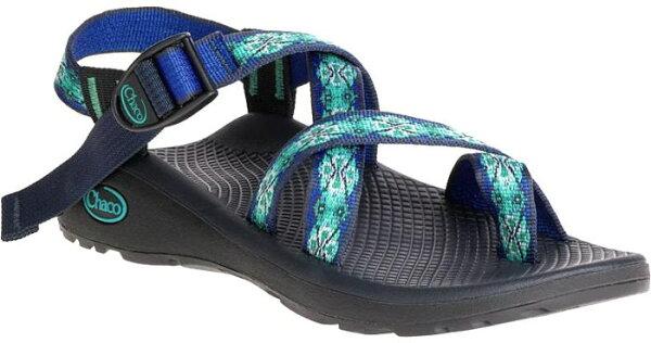 ├登山樂┤美國ChacoZCloud2女-越野紓壓運動涼鞋-夾腳款藍寶石#CH-ZLW02-HC15
