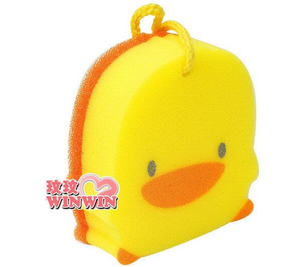 黃色小鴨 GT-88074 造型雙層沐浴海綿、洗澡海棉