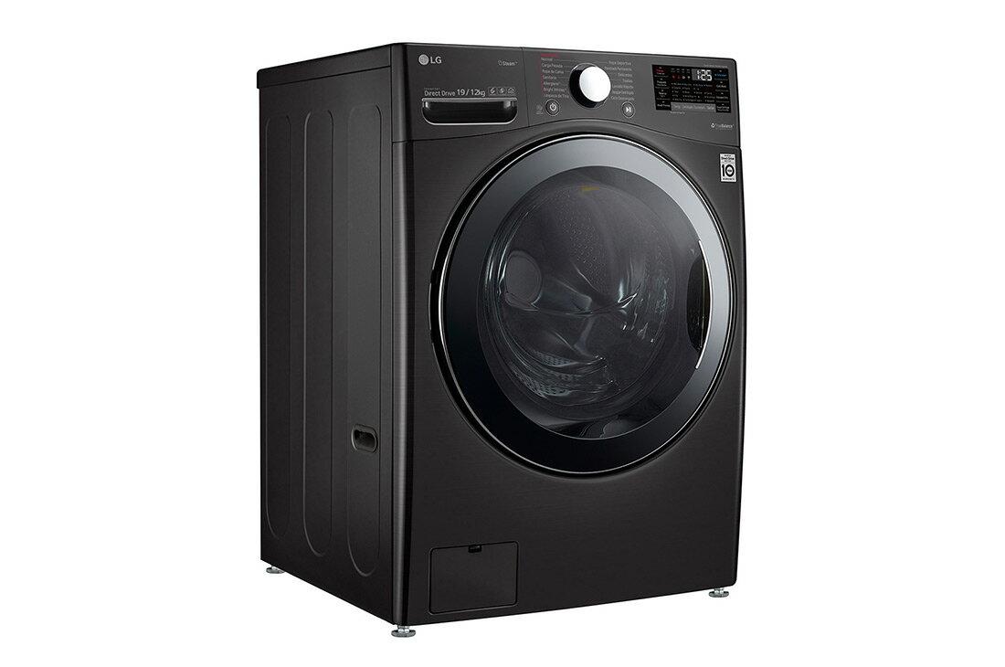 LG  WD-S19VBS WiFi滾筒洗衣機(蒸洗脫烘) 尊爵黑 / 19公斤***東洋數位家電***