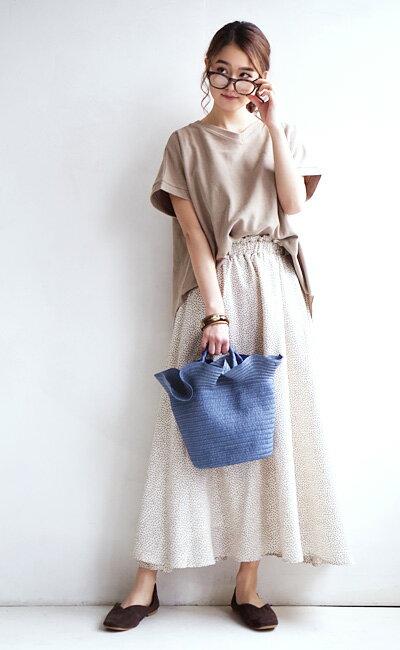 日本e-zakka / 休閒褶邊設計手提包 / 21670-1801122 / 日本必買 代購 / 日本樂天直送(2500) 6