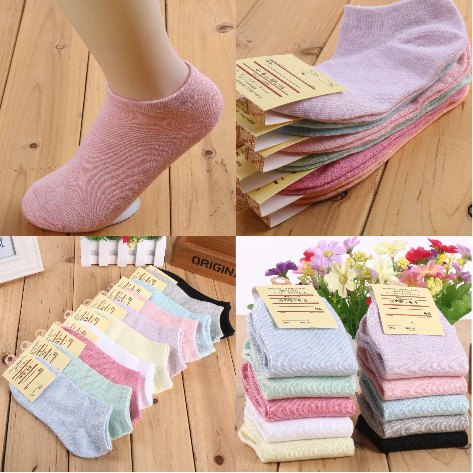 現貨 船型襪 隱形襪 純棉 棉襪 襪子 馬卡龍色船型襪 超好穿 (10色可選) 麗莎小舖