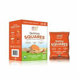 【好優Hoyo】美國原裝 NurturMe幼兒有機餅乾----有機藜麥,番薯,蘋果,肉桂