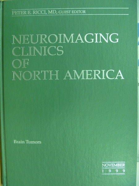 【書寶二手書T8/大學理工醫_YHI】Neuroimaging Clinics of North America