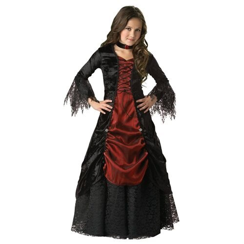 Gothic Vampire Child Costume - Size: 6 0