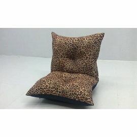 坐墊/木椅墊/和室椅《young漾彩豹紋舒適記憶和室椅》-台客嚴選