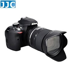 又敗家@JJC Tamron副廠遮光罩HB016遮光罩適16-300mm f/3.5-6.3 Di II VC PZD MACRO蓮花遮光罩(可倒裝反扣)相容Tamron原廠遮光罩HB016太陽罩遮罩遮陽罩lens hood f3.5-6.3旅遊鏡遮光副廠Tamron遮光罩