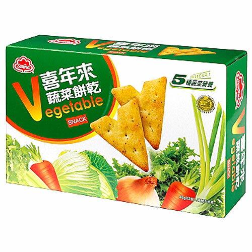 喜年來 大蔬菜餅乾 (40gX2入)/盒