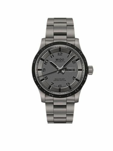 MIDO 美度 Multifort先鋒系列限量鈦金屬機械錶/質感灰/42mm/M0184304406200