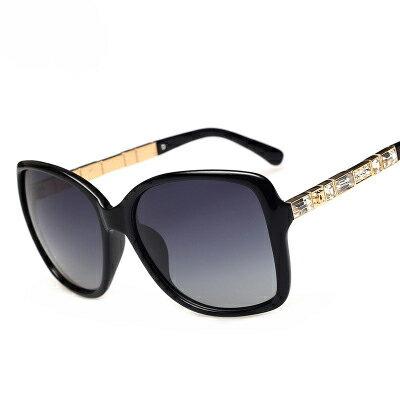 墨鏡方格圖騰裝飾經典大框太陽眼鏡【KS5308】BOBI0315