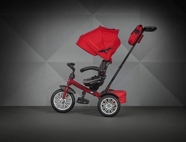 賓利 Bentley 三輪嬰兒手推車 黑 / 紅 / 藍 『121婦嬰用品館』 3