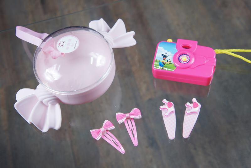 2202436兒童髮飾 幻燈片相機精緻糖果組合 顏色隨機出貨
