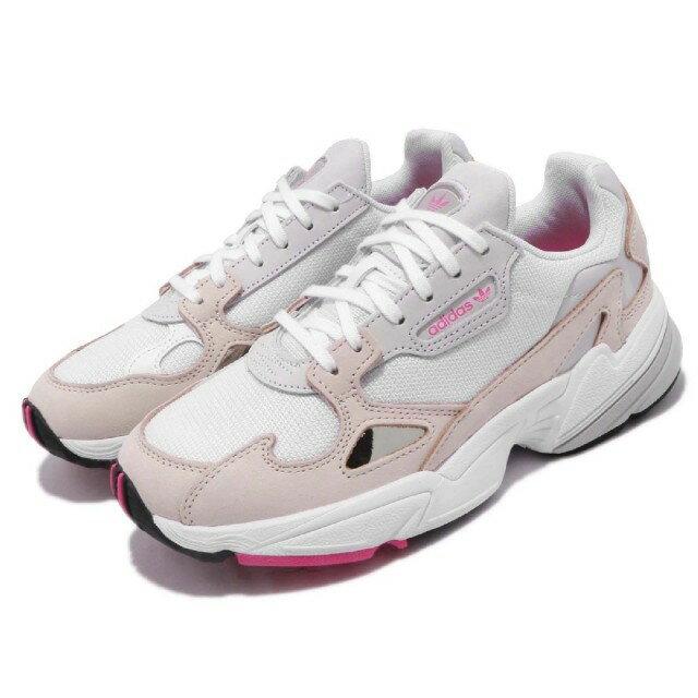 【ADIDAS】FALCON W 白粉 經典鞋 復古鞋 休閒鞋  慢跑鞋 女 訂價3690 DB2763 (Palace store) 0