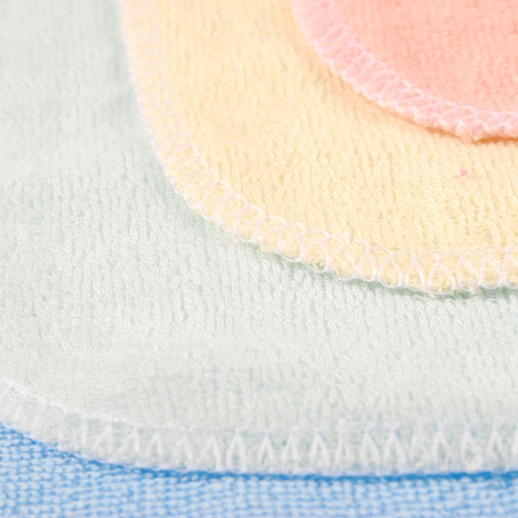 8PCS Baby Wash Handkerchief Multicolor Feeding Wipe Cloth Towel 4