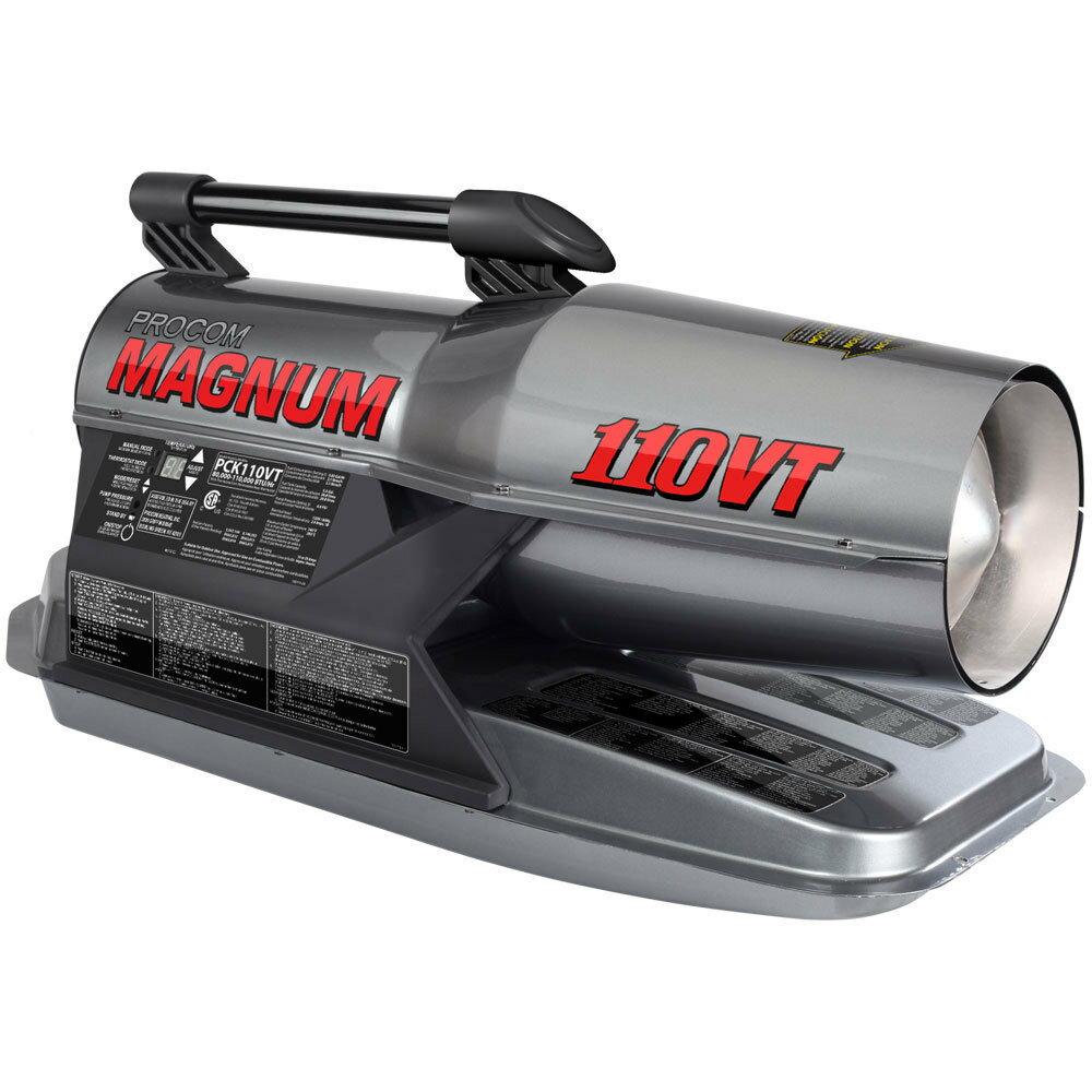 ProCom Kerosene Forced 80,000-110,000 BTU, Multifuel Air Heater