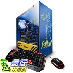 [8美國直購] 電腦主機 iBUYPOWER Pro Gaming PC Computer DesktopTrace 92060 (Intel i7-8700 3.20GHz, B07N3FN3TS