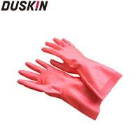 【DUSKIN】家用防滑手套(粉紅) *天然橡膠,無臭,無毒 0