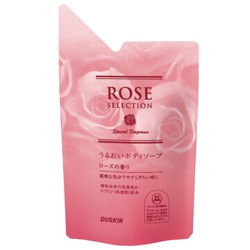 【DUSKIN】保濕沐浴乳-玫瑰補充包 *超保濕.獻水做的妳*