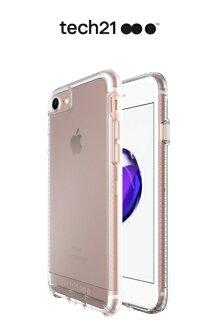 Tech21 英國超衝擊 Impact Clear iPhone 8 / 7 4.7吋 防撞硬式透明保護殼