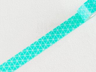 *小徑文化*日本進口 Mark`s maste BASIC 系列和紙膠帶 - 三角幾何 薄荷綠 ( MST-MKT181-MI )