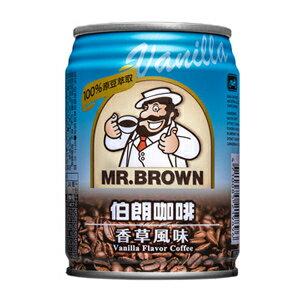金車 伯朗咖啡 香草風味 240ml