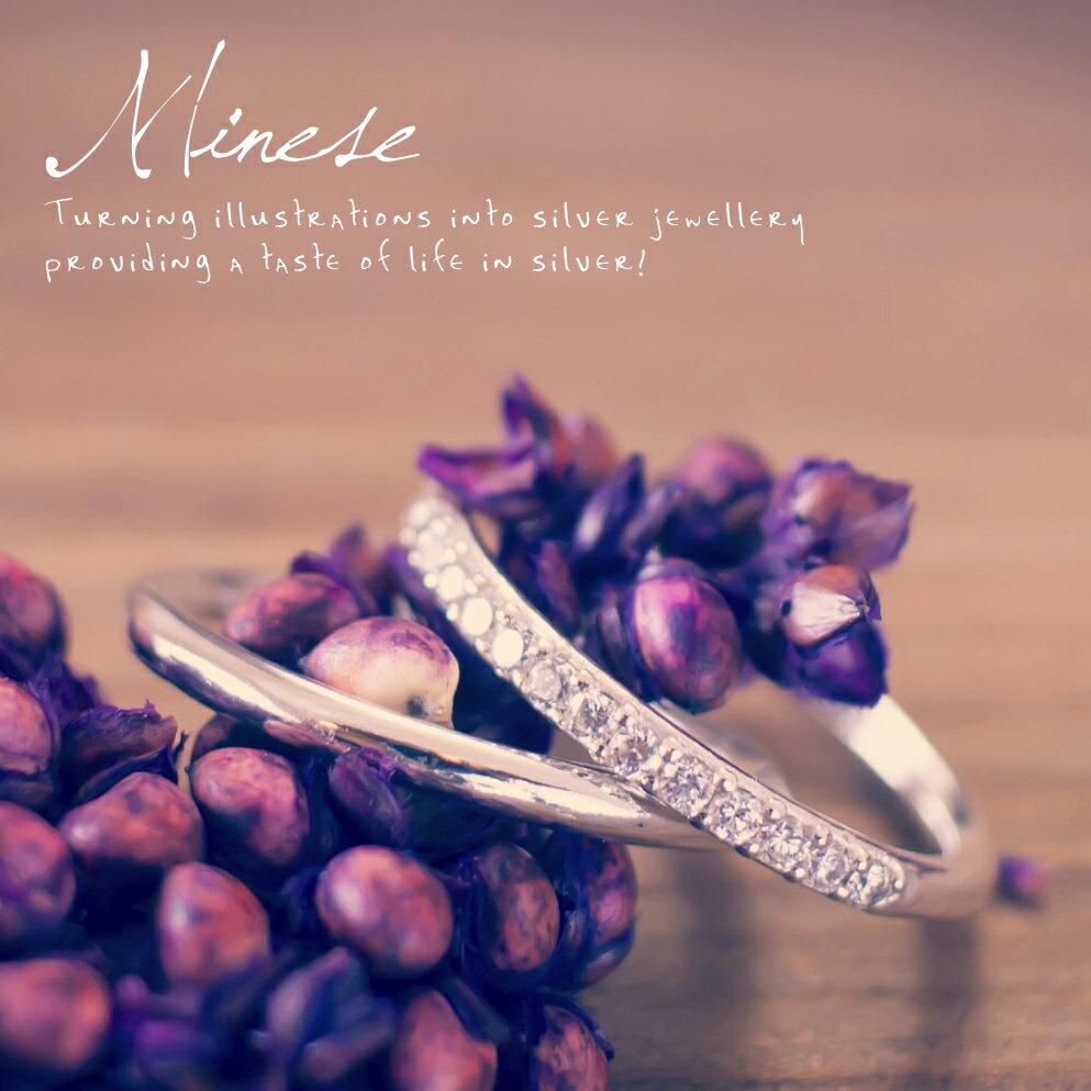 雙環鑲鑽戒 B-006a2, 925純銀、項鍊戒指手鍊飾品銀飾手作珠寶MIT設計師品牌~手工製作
