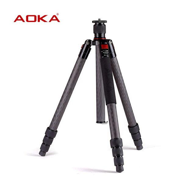 ◎相機專家◎送微單相機包AOKAKT284C+KK38S套組8X碳纖維攝影三腳架阻尼可調公司貨