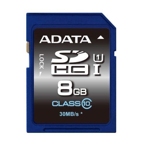 【新風尚潮流】威剛記憶卡 8G 8GB SDHC C10 UHS-I U1 ASDH8GUICL10-R