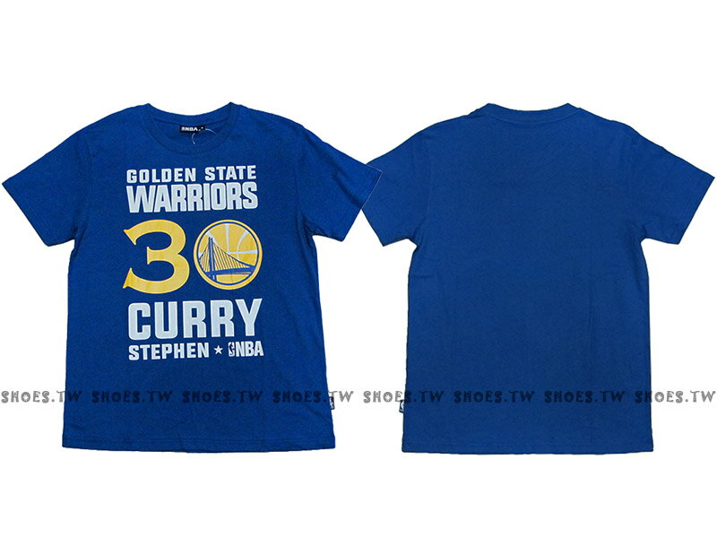 Shoestw~8660258~023~NBA T恤 金州 勇士隊 30號 CURRY S